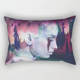 Mistreated Rectangular Pillow