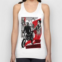 hannibal Tank Tops featuring Hannibal! by Ginger Breo