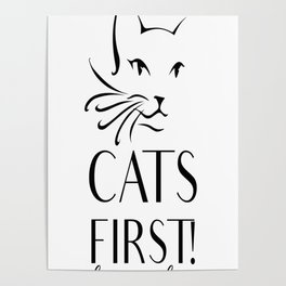 Cats first Poster