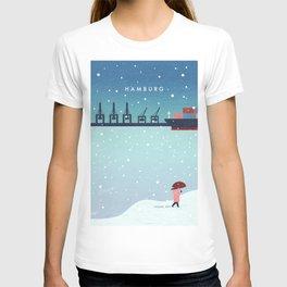 Hamburg winter T-shirt