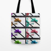 poem Tote Bags featuring Floral poem by RicardMN Photography