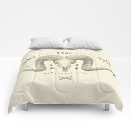 Mors Janua Vitae Comforters