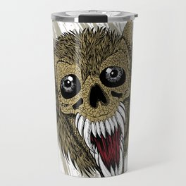 wolf head Travel Mug