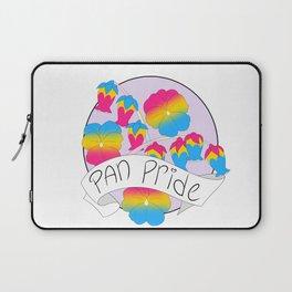 Pan Pride Flowers Laptop Sleeve