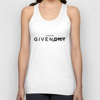 givenchy Tank Tops featuring Zero Fucks GIVEN/CHY by saratonin5