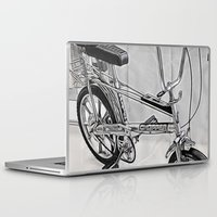 70s Laptop & iPad Skins featuring 70s Iconic Bike Uk by Paul & Fe Photography
