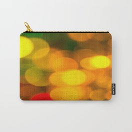 Colorful Bokeh Beautiful light #decor #society6 Carry-All Pouch