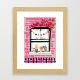 Sunny Again Tomorrow Framed Art Print