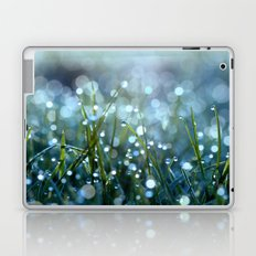 Fairy Drops Aqua Blue Laptop & iPad Skin