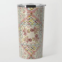 Auntie Green's Coverlet Quilt Travel Mug