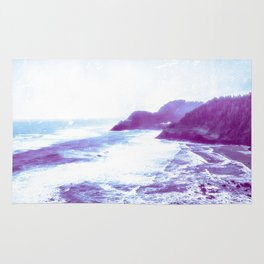 Vintage Coastal Sea Rug