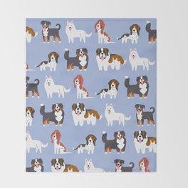 SWISS DOGS Throw Blanket