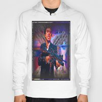 scarface Hoodies featuring scarface by Vector Art