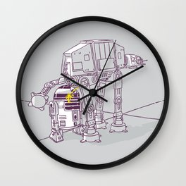 Not quite a fire hydrant Wall Clock