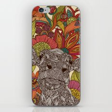 Arabella and the flowers iPhone & iPod Skin