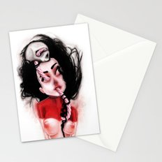 Candy Cane Blood Stationery Cards