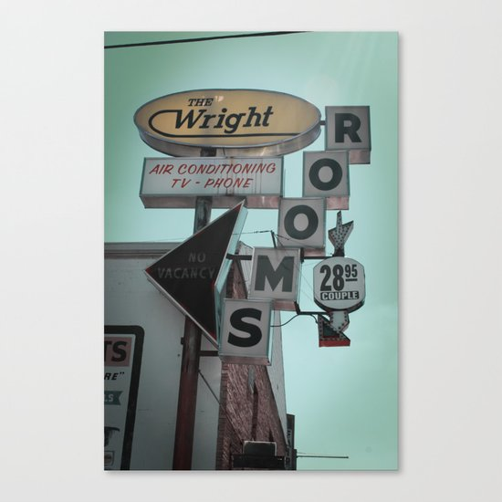 The Wright Canvas Print