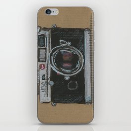 Diddie Doodle the Camera iPhone Skin