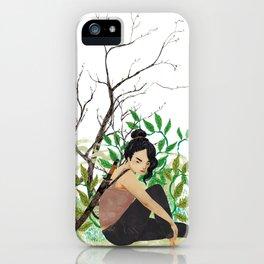 Kira Yukimura, Spring iPhone Case