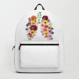 Floral Lungs Backpack