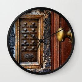 door bell Wall Clock