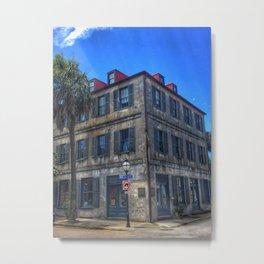Charleston Building Metal Print