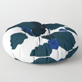 Green Days Foliage Folly Floor Pillow