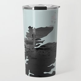 'Wandering' Scotland map Travel Mug