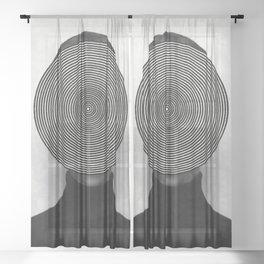 Dizzy Sheer Curtain