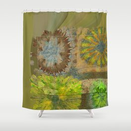 Twinged K-Naked Flower  ID:16165-123043-49351 Shower Curtain