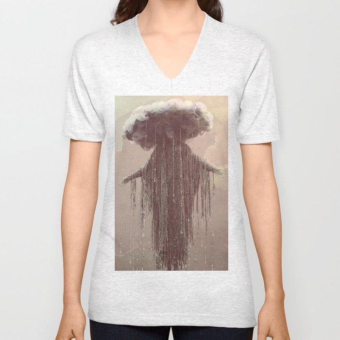 storm lady Unisex V-Neck