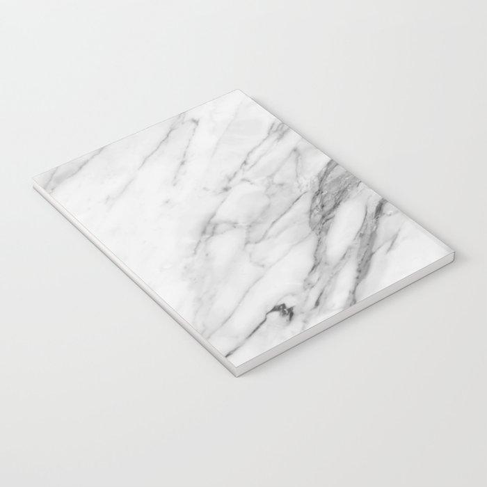 Carrara Marble Notebook