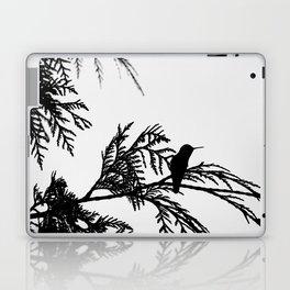 the thoughtful hummingbird Laptop & iPad Skin