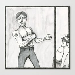 The Pugilist  Canvas Print