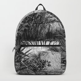 Mexico Hut sketched Backpack