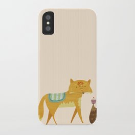 The Fox and the Hedgehog iPhone Case