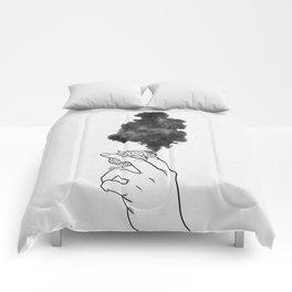 Burning mind. Comforters