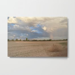 Gila Valley View Metal Print