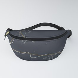 Pisces Zodiac Sign Constellation Fanny Pack