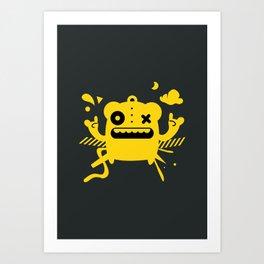 Monster Art Art Print