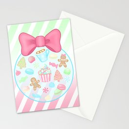 Christmas Sweets Stationery Cards