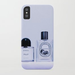 the scent ver.cool purple iPhone Case