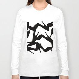 Shoe Fetish (Version 2) High Heel Shoe Art Long Sleeve T-shirt