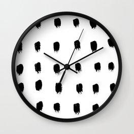 Jacques Pattern Wall Clock