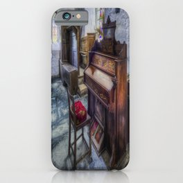 Olde Church Organ iPhone Case