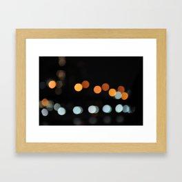 Manhattan Out of Focus Framed Art Print