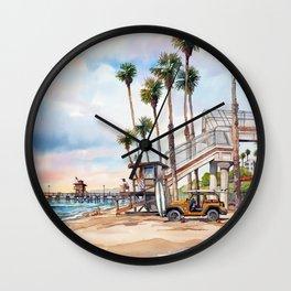 T Street Wall Clock