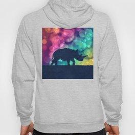 Pop Art Rhinoceros Hoody