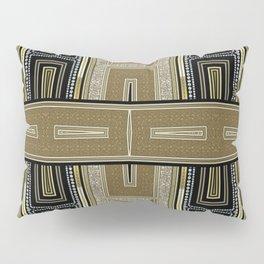 Gold Black Glam ArtDeco X5 Pillow Sham