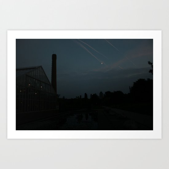 Shooting stars? Art Print